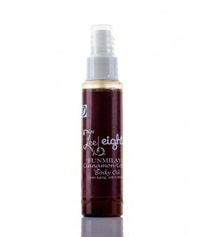 ZEEEIGHT12 'FUNMILAYO' CINNAMON AND BODY OIL 250ML