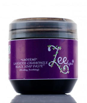 ZEEEIGHT12 'GBOTEMI' LAVENDER AND CHAMOMILE PASTE AFRICAN BLACK SOAP 500g